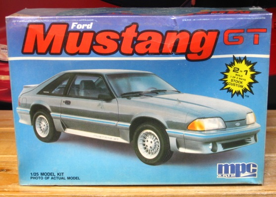 MPC 1987 Mustang GT Original 1986 Issue Sealed