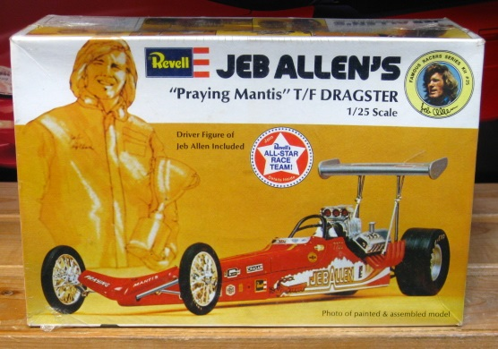 Revell Jeb Allen's Praying Mantis Top Fuel Kit Sealed