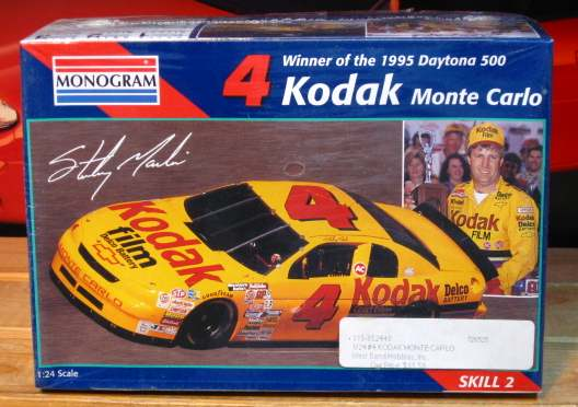 # 4 Kodak Sterling Marlin 1995 Monte Carlo Monogram Kit Sealed