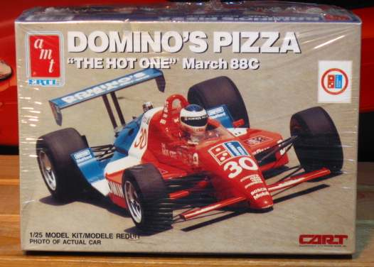 AMT Domino's Pizza March 88C Indy Car Kit Sealed