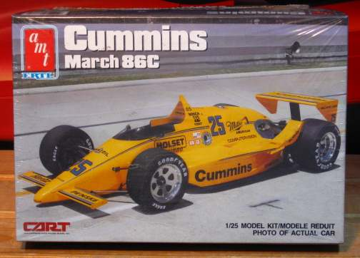 AMT Cummins March 86C Indy Car Kit