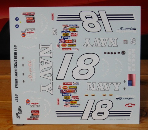 #18 Navy Lumina 1991 Daytona Powerslide #267