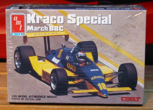 AMT Kraco Special March 88C Indy Car Kit Sealed