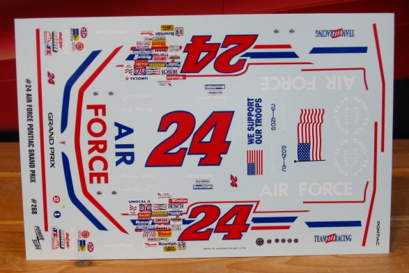 #24 Air Force Mickey Gibbs 1991 Daytona Powerslide #268