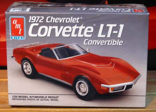 AMT 1972 Corvette LT-1 Convertible 1991 Issue Sealed