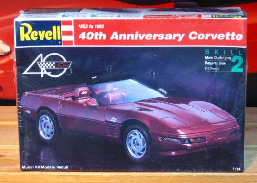 Revell 1993 Corvette 40th Anniversary 1993 Issue Sealed