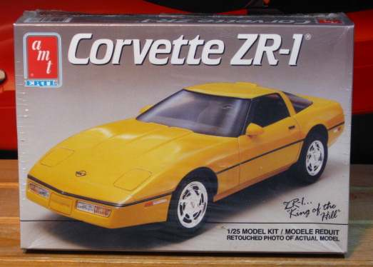 AMT 1989 Corvette ZR-1 Kit Sealed