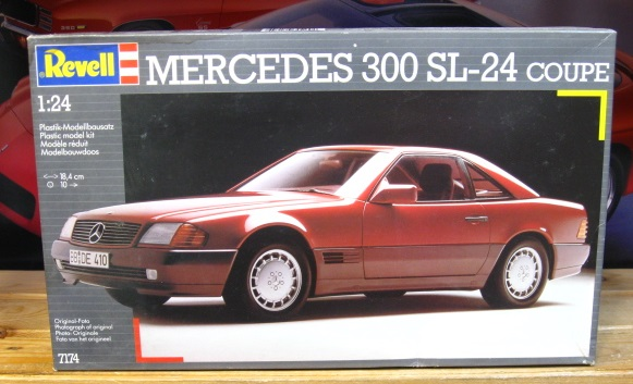 Revell Mercedes 300 SL-24 Coupe Kit