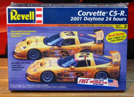 Revell Corvette C5-R 2001 Daytona 24 Hrs Sealed