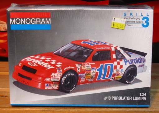 #10 Purolator Derrike Cope 1991 Lumina Monogram Kit