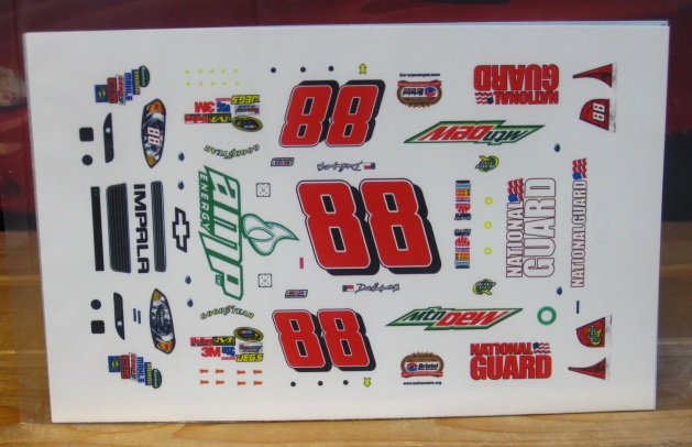 #88 AMP Bristol 50th Ann Dale Earnhardt Jr 2011 MPR