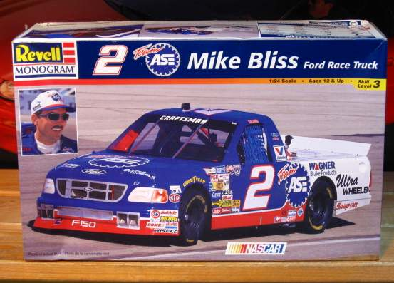 # 2 ASE Ford Truck Mike Bliss Monogram Kit Sealed