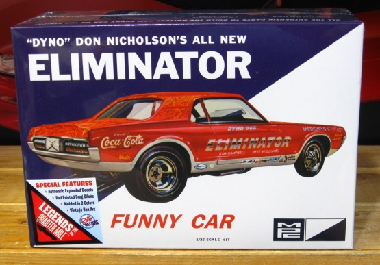 MPC Dyno Don Eliminator Cougar Funny Car NEW!