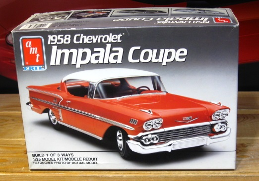 AMT 1958 Chevrolet Impala Coupe 1990 Issue Complete