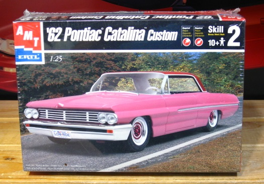AMT 1962 Pontiac Catalina Custom Kit Sealed
