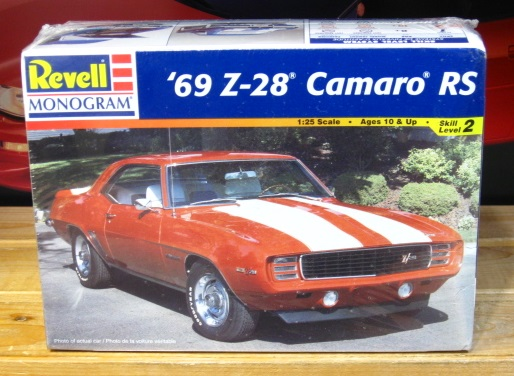 Revell 1969 Camaro Z-28 RS Kit 1998 Issue Sealed
