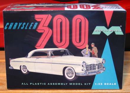 Moebius Models 1955 Chrysler 300 Kit Sealed