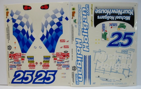 #25 Holigan.com 2000 1/10 Scale Vinyl Slixx