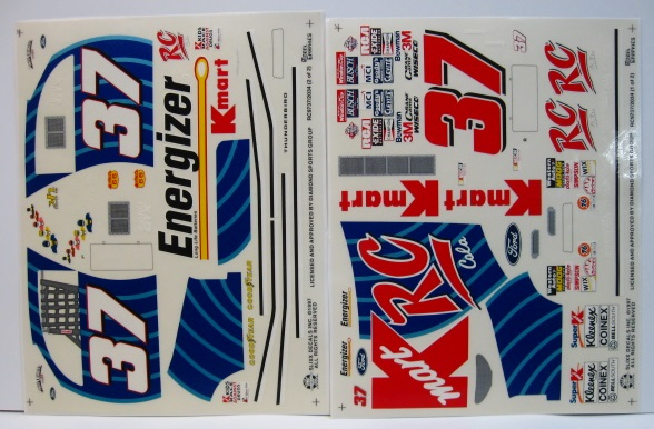 #37 RC Cola Early 1997 1/10 Scale Vinyl Slixx