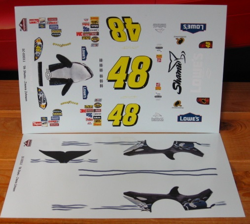 #48 Shamu Jimmie Johnson 2006 Monte Carlo Stoney\'s