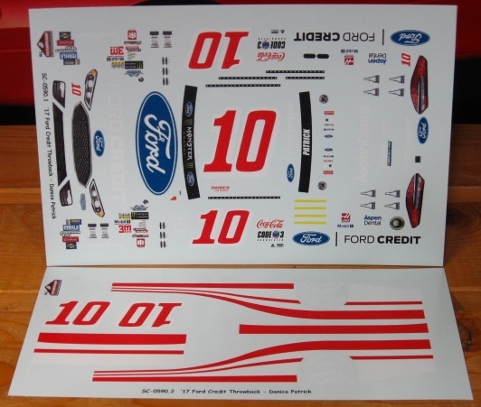 #10 Ford Credit Danica Patrick 2017 Darlington Stoney's