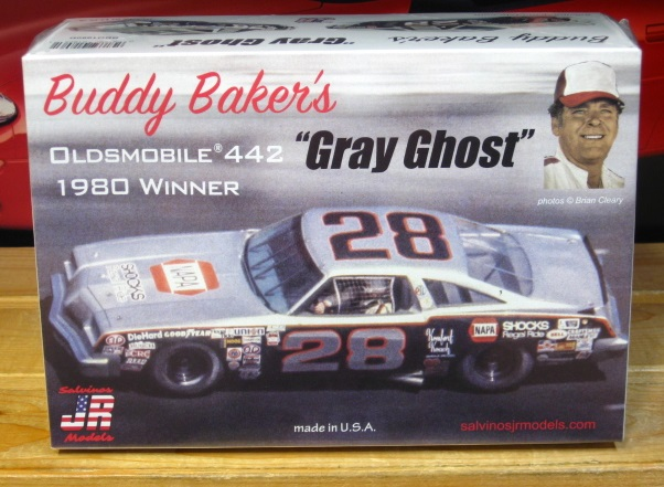 #28 Buddy Baker Gray Ghost JR-Salvinos Kit NEW