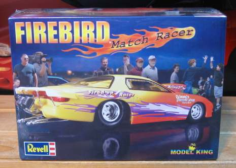 Model King Revell Firebird Pro Stock Kit