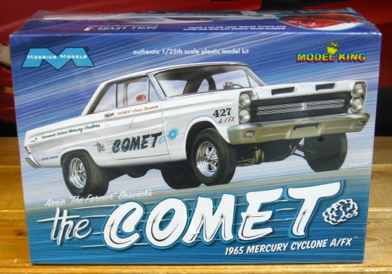"Moebius Arnie Beswick's ""The Comet"" 1965 Mercury Cyclone A/FX Kit NEW!"