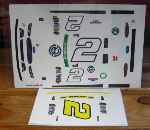 # 2 Detroit Genuine Parts Brad Keselowski 2014 Fusion MPR
