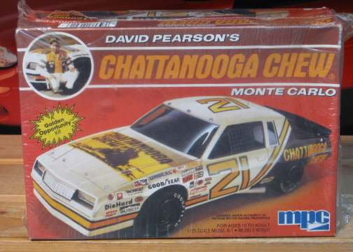 #21 Chattanooga Chew David Pearson 1985 MPC Kit Sealed