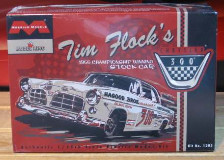 Moebius Models Tim Flock S 1955 Chrysler 300 Stock Car Kit Other