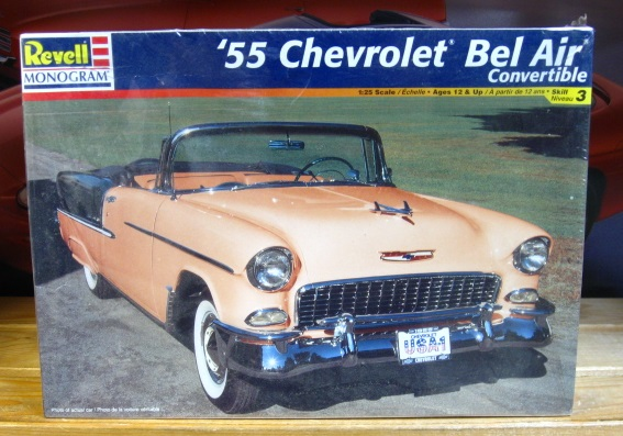 Revell 1955 Chevy Bel Air Convertible Kit Sealed