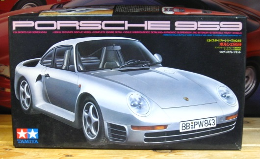 Tamiya Porsche 959 Kit Original 1987 Issue