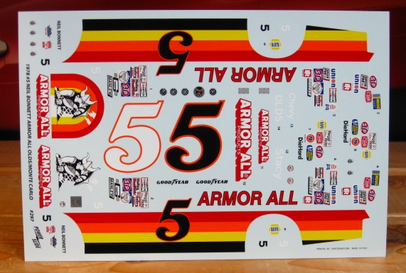 # 5 Armor All Neil Bonnett 1978 Olds/Monte Carlo Powerslide #297