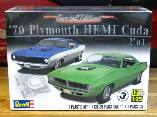 Revell 1970 Plymouth Hemi Cuda Special Edition Series Kit Sealed