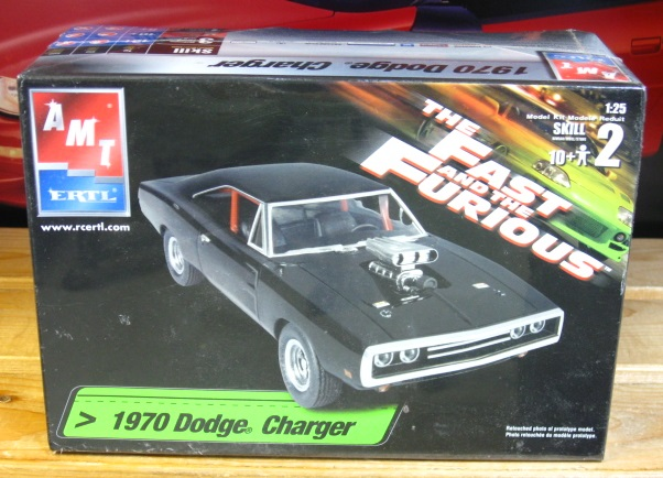 "AMT 1970 Dodge Charger ""The Fast and the Furious"" Kit Sealed"