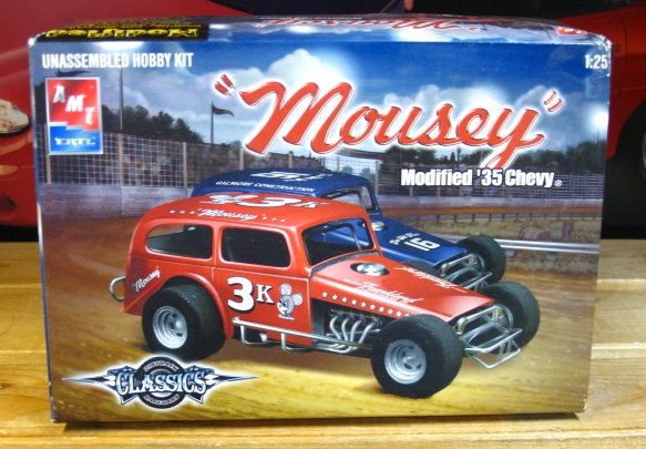 "DTR '35 Chevy ""Mousey"" Modified Kit Complete"