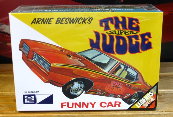 MPC Arnie Beswick's The Super Judge Funny Car Kit Complete