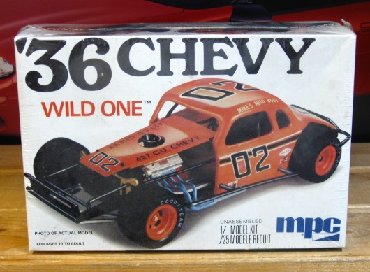 "MPC '36 Chevy ""Wild One"" Modified Original 1975 Issue Factory Sealed"
