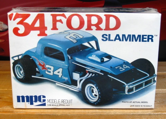 "MPC '34 Ford ""Slammer"" Modified Original 1975 Issue Factory Sealed"