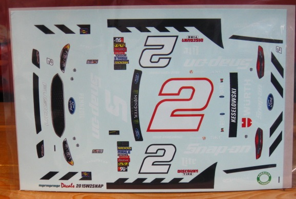 # 2 Snap On Brad Keselowski 2015 Fusion MPR