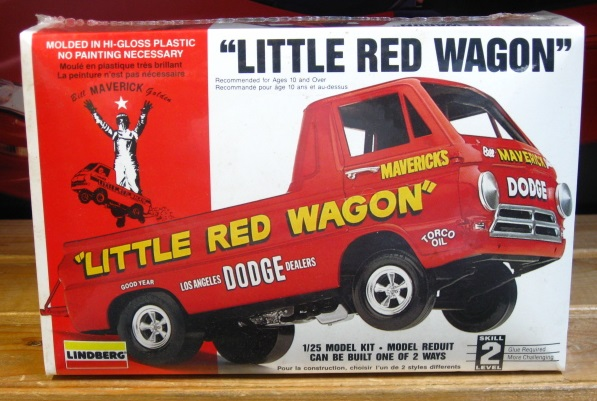 Lindberg Little Red Wagon 1993 Issue Sealed