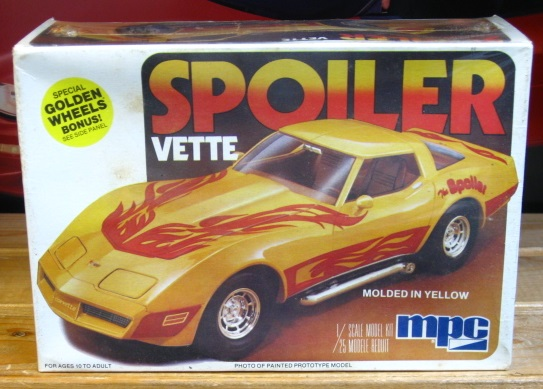 MPC Spoiler Corvette Original 1979 Issue Sealed