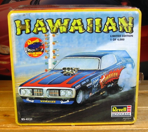 Revell Hawaiian Charger Funny Car Tin Kit Sealed