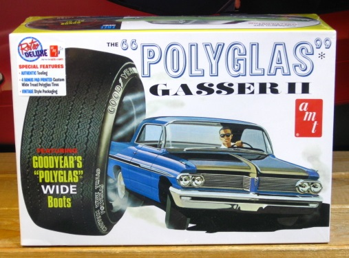 "AMT 1962 Pontiac ""Polyglas"" Gasser II Kit Sealed"