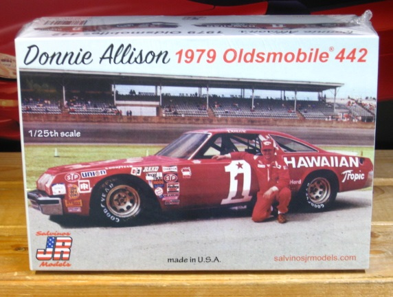 # 1 Hawaiian Tropic Donnie Allison Oldsmobile JR-Salvinos Kit Sealed