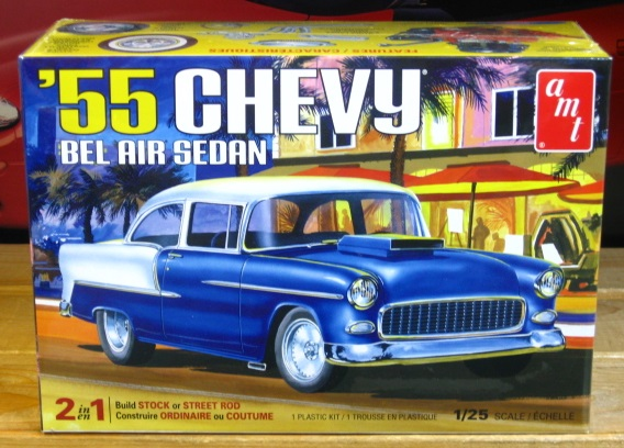 AMT 1955 Chevrolet Bel Air Sedan Kit New 2018 Issue Sealed