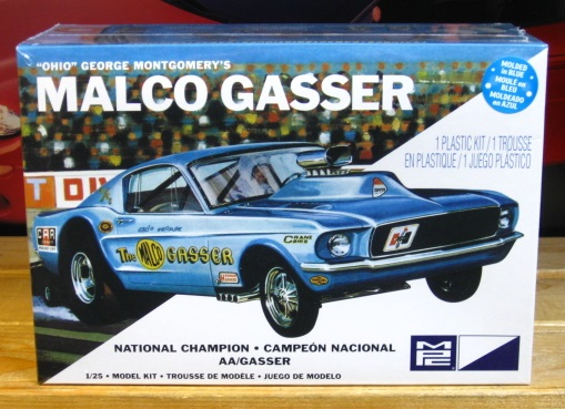 MPC Ohio George Malco Gasser Mustang Kit Sealed