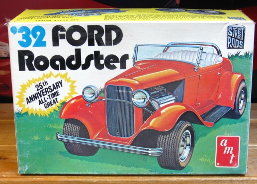 AMT 1932 Ford Roadster '70s Issue Complete