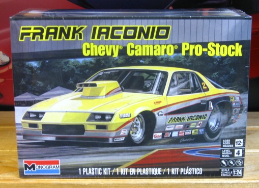 Monogram Frank Iaconio\'s Pro Stock Camaro New 2018 Issue